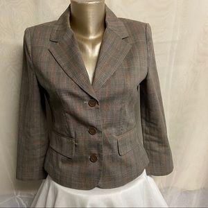 Women's Mario Serrani plaid blazer